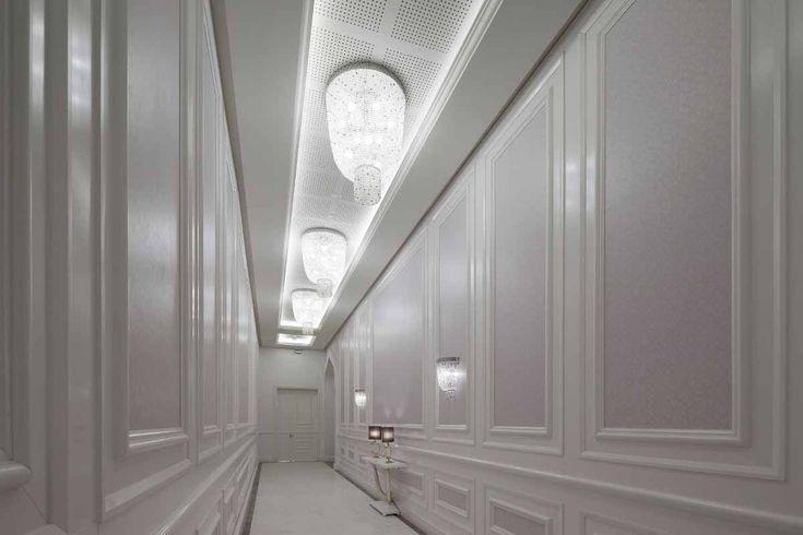 AL RUFAA CELEBRATION HALL COMPLEX | Sans Souci ... decorative light fixtures of Czech crystal beads adorn all wedding halls´ corridors.
