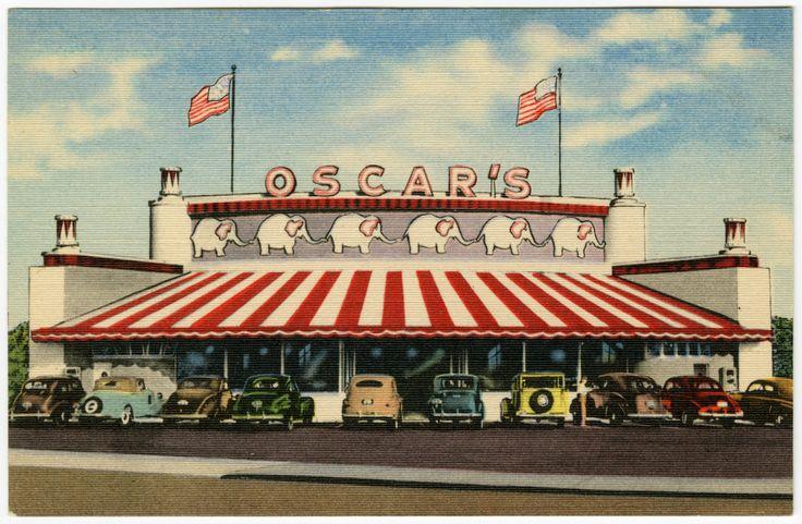 Oscar's Drive-In, El Cajon Boulevard in San Diego