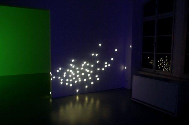 Jan Stolín, XYZ,  Dům Umění České Budějovice, 2004, projekce, digitální animace