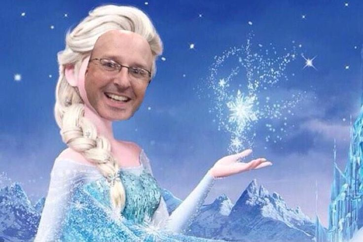 The cold never bothered me anyway…in Tennessee.