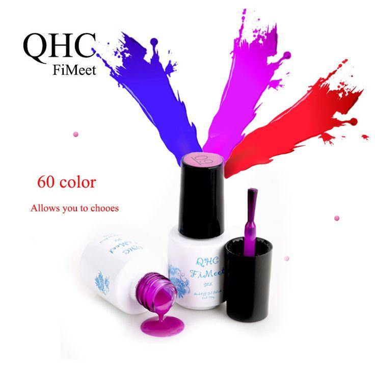 1Pcs Nail  Polish Gel Len Long-lasting Soak-off Gel Nail LED UV 6ml Summer Hot Nail Gel BY QHC FiMeet >>> Be sure to check out this awesome product.