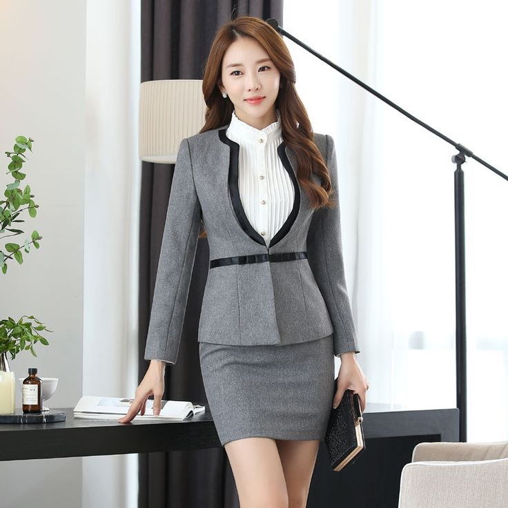 Cheap jacket north, Buy Quality suit sport jacket directly from China jacket arsenal Suppliers: Formal Professional Career Work Suits With Jackets And Skirt Slim Fashion Business Work Wear Female Blazers Set Outfits