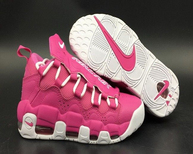 90e38757821 Nike Air More Money QS Think Pink AJ7383-600 For Sale