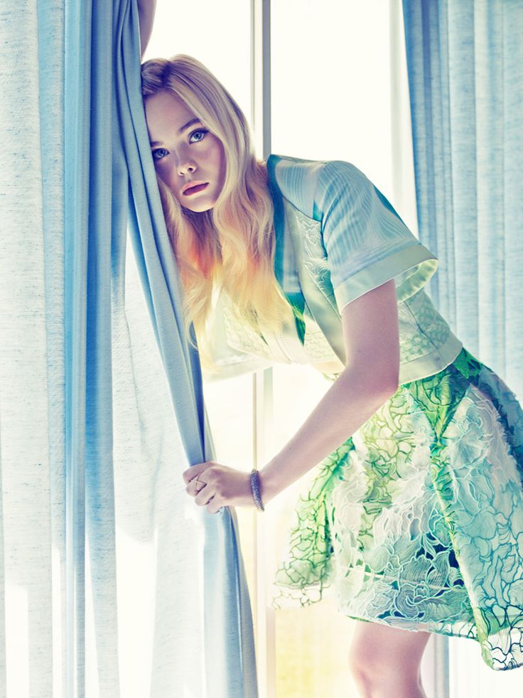 Elle Fanning for Fashion Canada, by Mark Williams (June 2014).