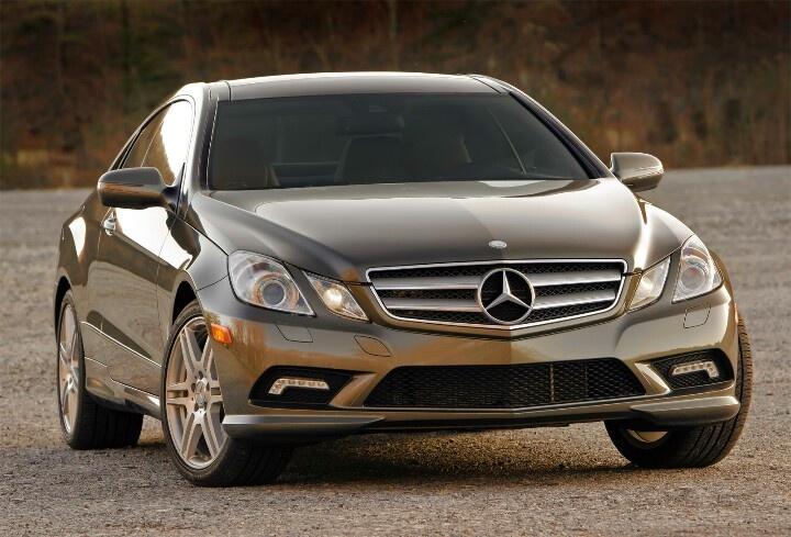 My Mercedes Benz E350 Coupe in Olivine Grey Metallic