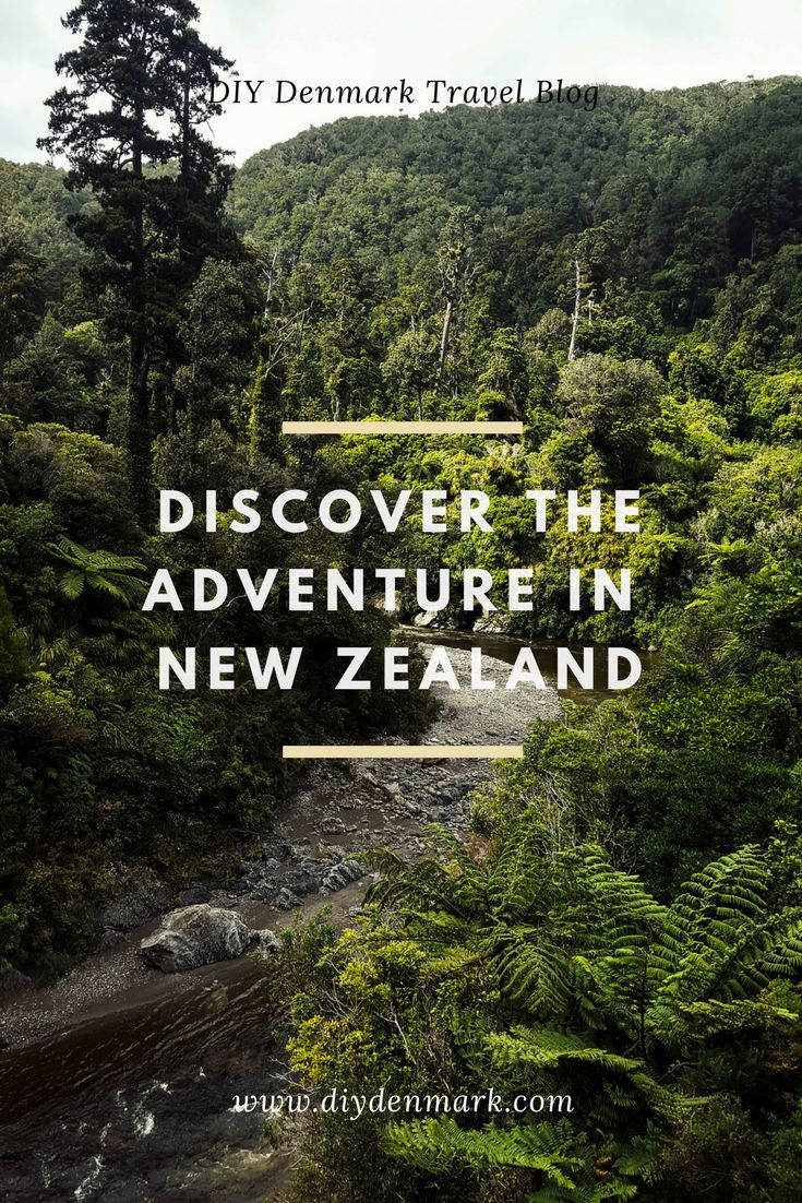Travel to New Zealand and discover the adventure and beautiful nature. Travel itinerary for a road trip in New Zealand. DIYDenmark Travel Blog #travel #travelblogger #newzealand #cheaptravel #travelonabudget #savemoney