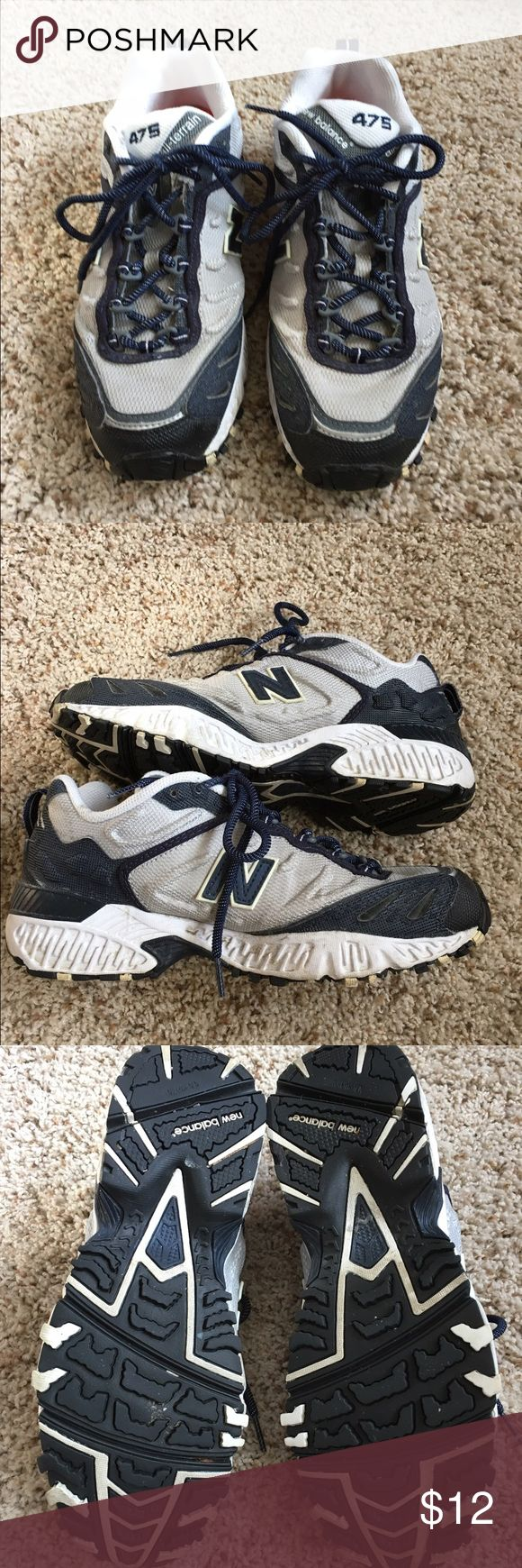 New Balance 475 all terrain men's size 8.5 Men's New Balance 475 all terrain shoe. Gently used, great condition, size 8.5.  No flaws, external dirt on inner sole could easily be removed by new owner 😊 New Balance Shoes Athletic Shoes