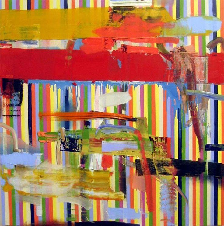 Pintura abstracta de Tomori Dodge