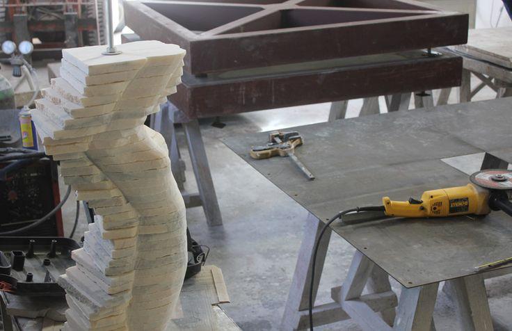 Escultura de Rogério Timóteo | Atelier