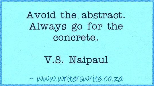 Quotable - V.S. Naipaul - Writers Write Creative Blog