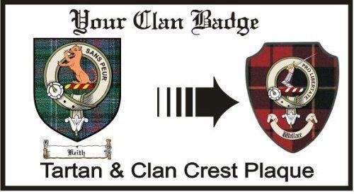 Keith Clan Sutherland Clan Badge Plaque . $29.99
