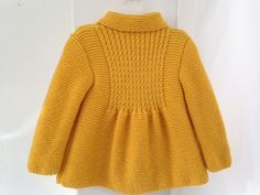 NEW Little Princess Coat For 2 to 3 Year Old by AuthenticKnit