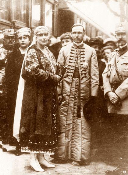 Regina Maria, PS Iuliu Hossu, Regele Ferdinand