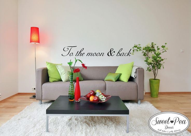 To the moon & back Sticker (SWP002) by Sweet Pea Decor