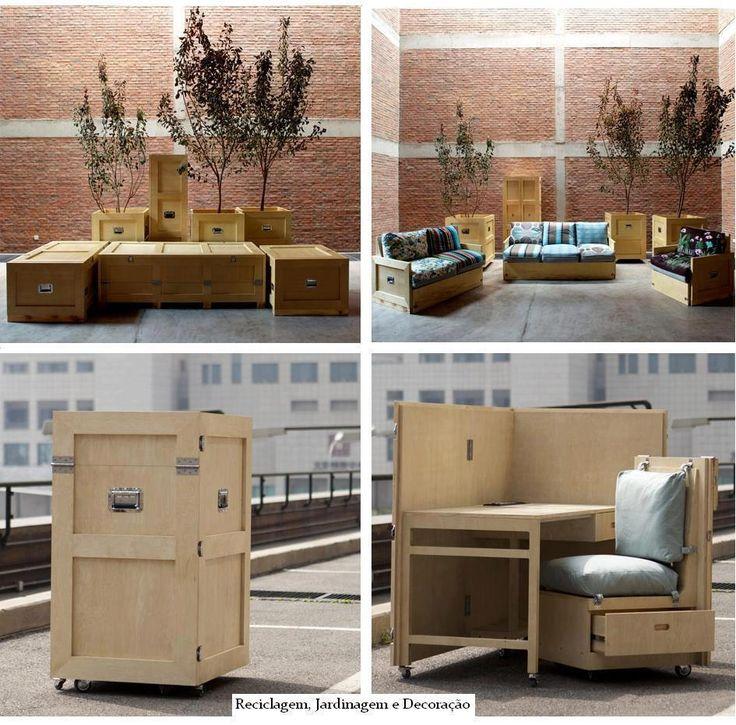 FLEXIBLE. Muebles multifuncionales