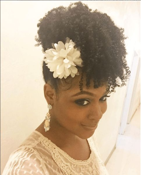 Hairstyles For Weddings Bridesmaid African American: Chic Natural Hairstyles For Weddings & More