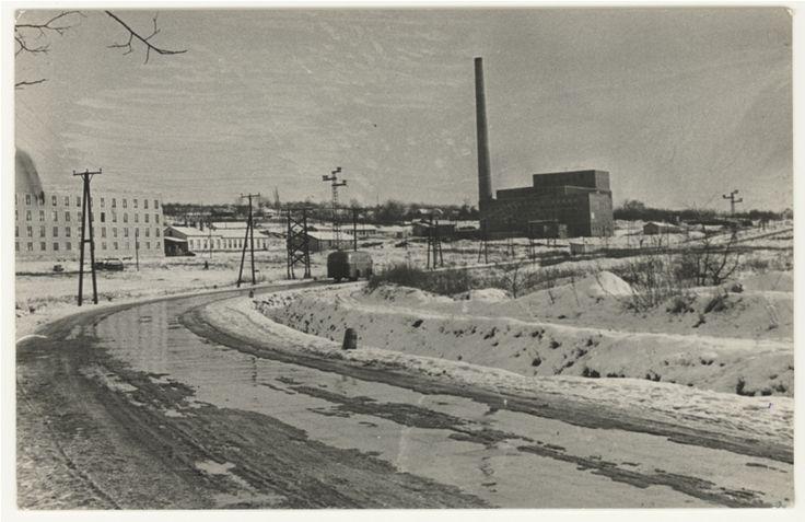 Miskolci Egyetem Fűtőmű 1952