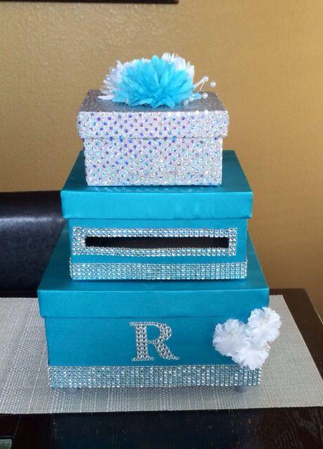 81 best Wedding card box money box birthday card box images on – Birthday Card Boxes
