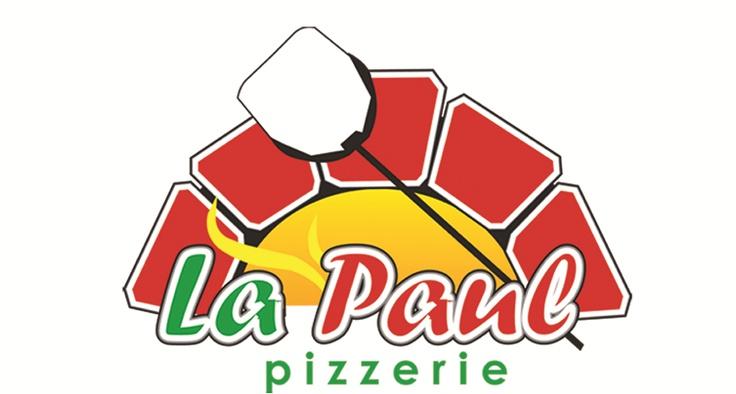 Logo Pizzeria La Paul!