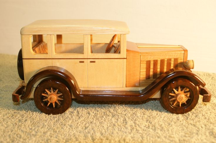 "Handmade Wooden Toy Car, 1932 Buick Sedan from Sam Martin's book: ""Making Toys - Heirloom Cars and Trucks in Wood."" #odinstoyfactoy #handmade #handcrafted #woodentoys #toys #tallahassee #florida #toys #buick #sedan"