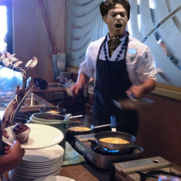 Pictures of Prince Cookin' Up Omelets