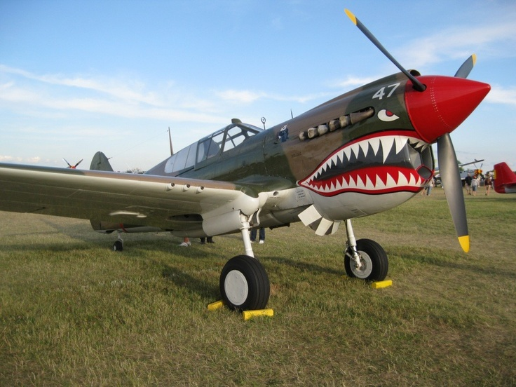 154 Best P 40 Warhawk Images On Pinterest