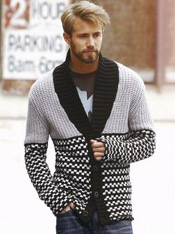 This shxt is ill! DKNY JEANS Shawl Collar Mens Cardigan | Very.co.uk