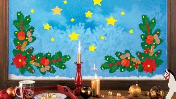 Fensterbilder zu Weihnachten im Fischer Fensterbilder Onlineshop