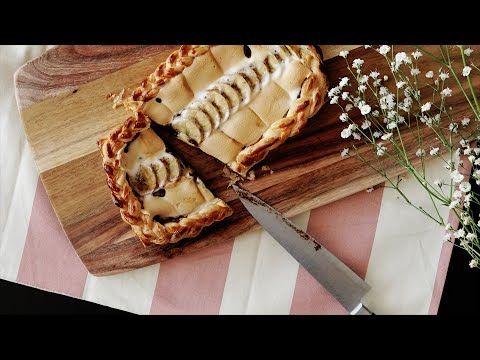 【レシピ】とろけるバナナチョコボードパイの作り方 - YouTube