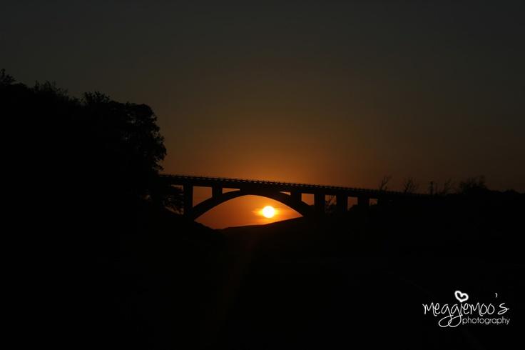 N2 Scottburgh sunset ...