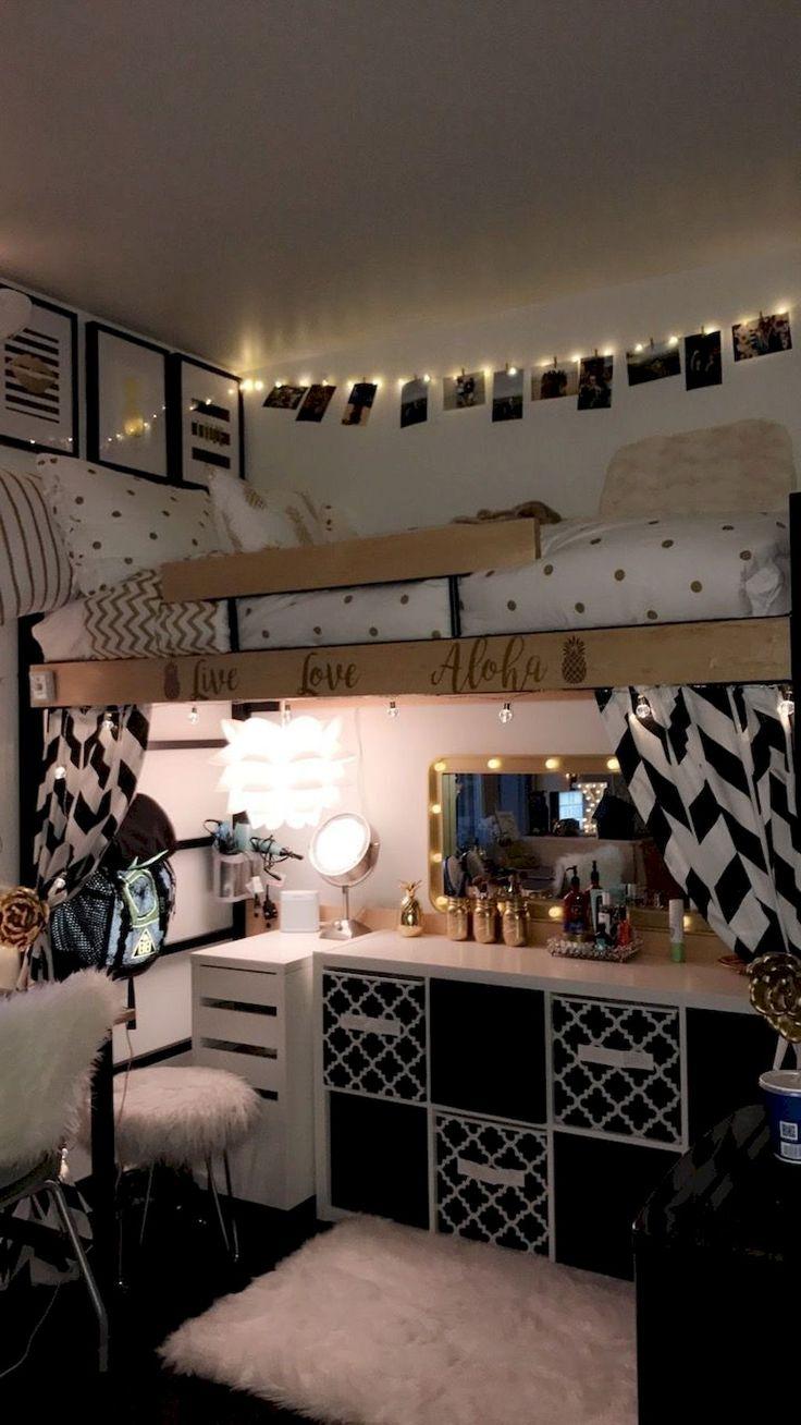55 Genius Dorm Room Organization Ideas 539