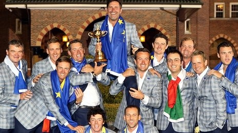Team Europe win the Ryder Cup after a day that will go down in the history books!