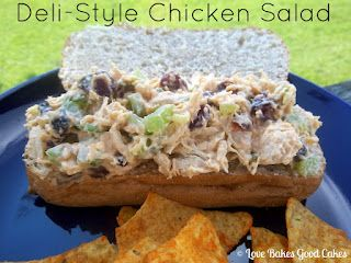 Love Bakes Good Cakes: Deli-Style Chicken Salad