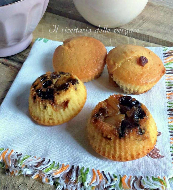 Questi muffin mele e uvetta sono una vera goduria per il palato, la mattina con la colazione danno una marcia in più, sicuramente inizi bene la giornata.