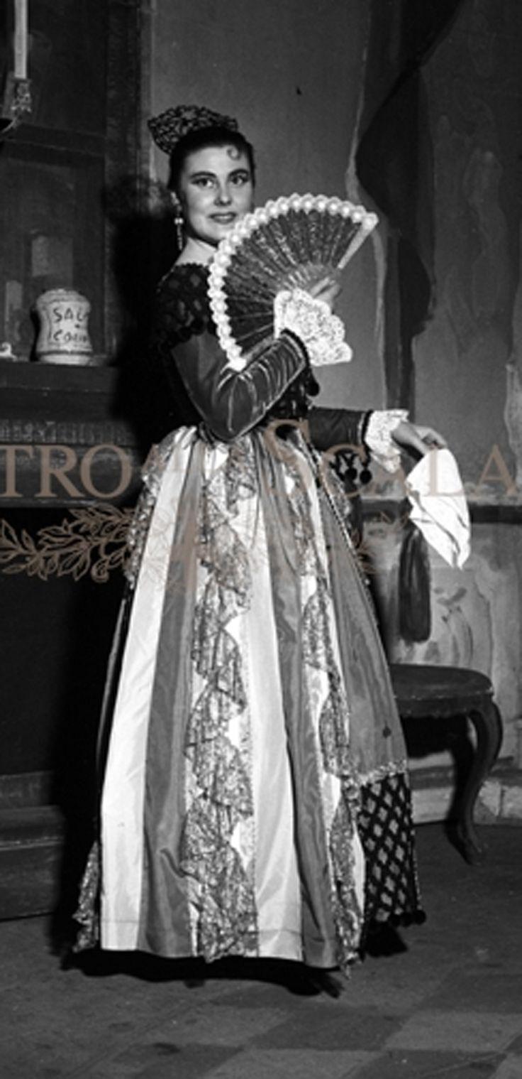 Eugenia Ratti Regia Carlo Piccinnato Teatro alla Scala di Milano 1956