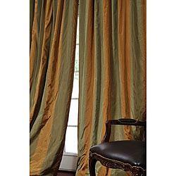 """Family room curtains, <3 the """"O"""""""