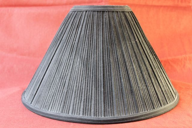 all the redo lampshades are for flat ones. if you have a pleated lampshade to redo this site shows you how! smart!