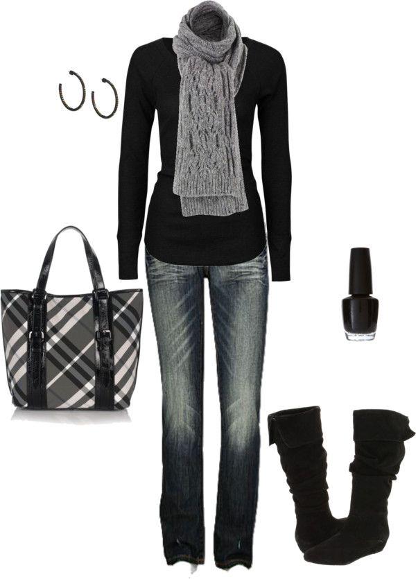 love black. So simple