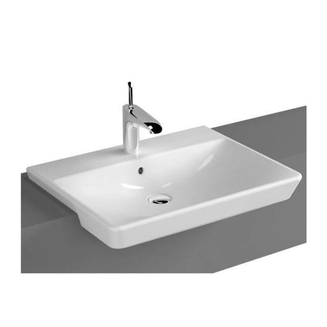 Vitra T4 Semi-recessed Basin Dimensions: 600(w) x 470(d) x 140(h)m