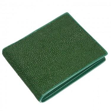 Portofel Verde de Piele de Pisica de Mare