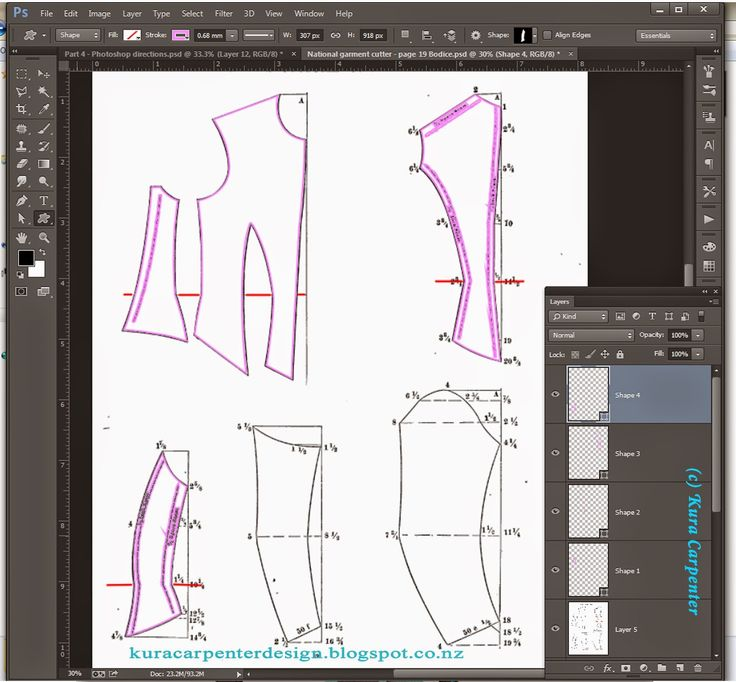 Best 10 Digital Pattern Drafting images on Pinterest | Sewing tips ...