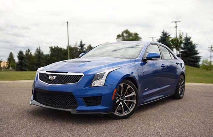 2019 Cadillac ATS-V Comes with a Compact Four-Door Luxury Sedan