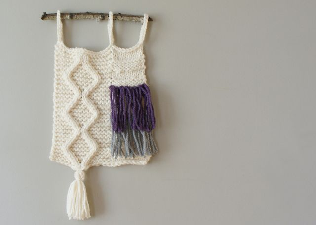 2015016 Cable Knit Wall Hanging — Midknits