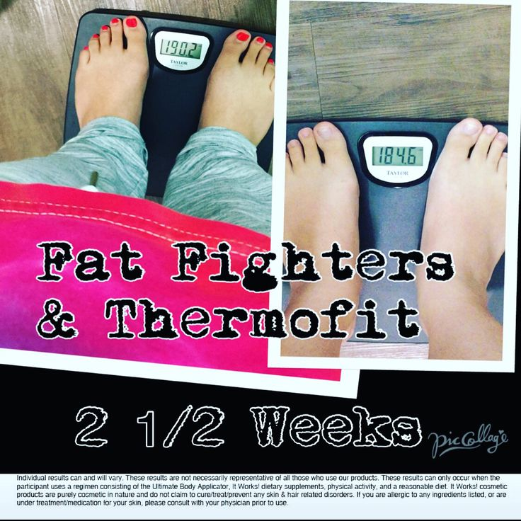 My personal friends results!! She's using Thermofit & Fat ...