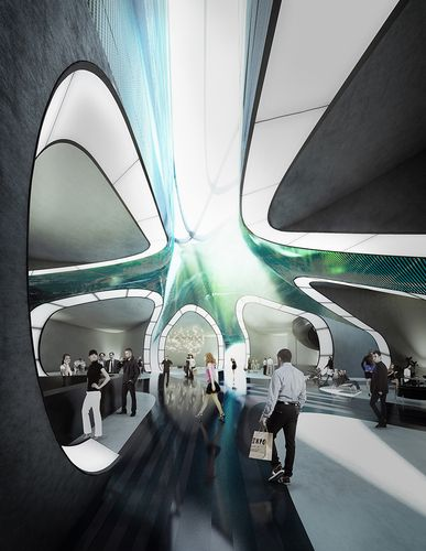 Italian Pavilion at Expo 2015. Milan [Futuristic Architecture: http://futuristicnews.com/category/future-architecture/ Zaha Hadid: http://futuristicnews.com/tag/zaha-hadid/]