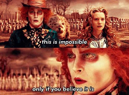 Alice in Wonderland (Tim Burton version)