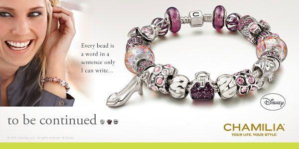 Chamilia Disney Beads And Charm Jewelry Chamilia