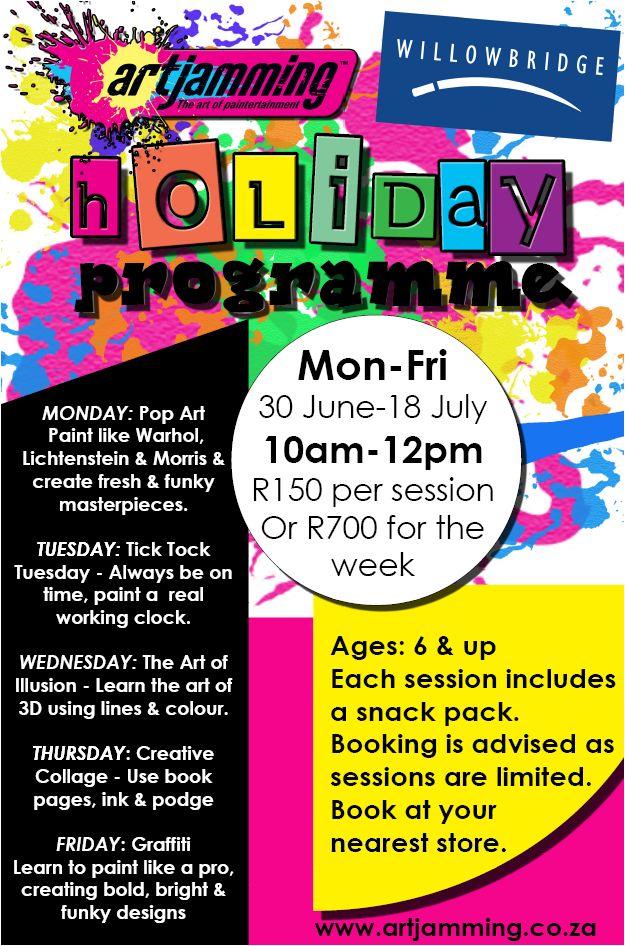 Art Jamming Willowbridge Holiday Programme 2014