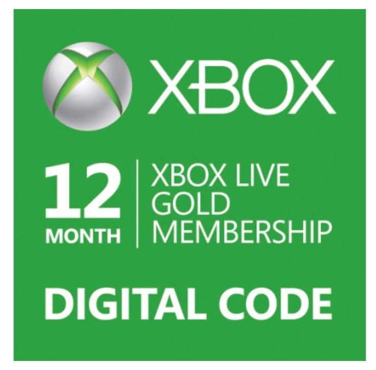 cool Win 12 Month Xbox Live Gold Membership {WW} 7/10 #giveaway #sweeps #win