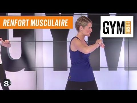 Taille / Abdos / Fessiers - Renforcement musculaire - 187 - YouTube